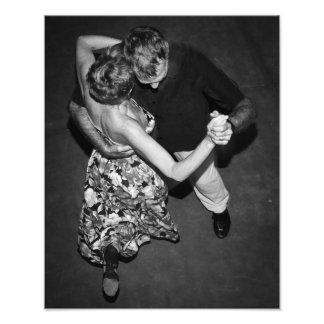 Impression Photo Danseurs argentins de tango