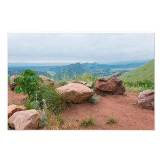 Impression Photo Donnez sur au parc rouge de roches