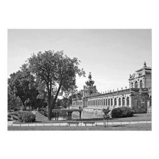 Impression Photo Dresde. Zwinger. Portes de couronne