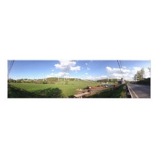 Impression Photo Élargissements faits sur commande panoramiques