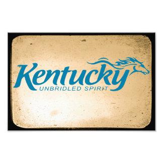 Impression Photo Esprit déchainé du Kentucky