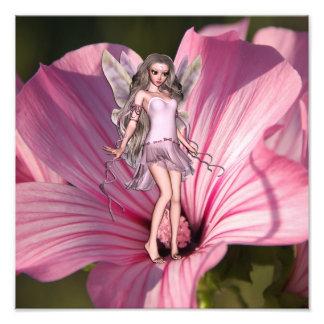 Impression Photo Fée de fleur