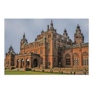 Impression Photo Galerie d'art de Kelvingrove et musée, Glasgow