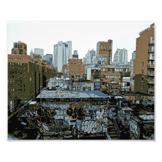 Impression Photo Graffiti de New York City