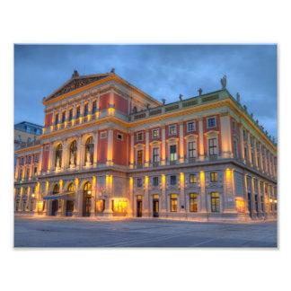 Impression Photo Grand hall de saucisse Musikverein, Vienne,