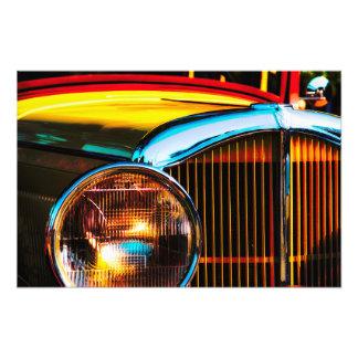 Impression Photo Grand style de couleur vive