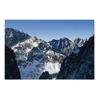 Impression Photo Hautes montagnes de Tatra, Slovaquie