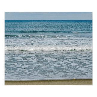 Impression Photo Jour ensoleillé chez l'Océan Atlantique en Floride