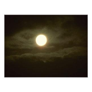 Impression Photo la lune superbe