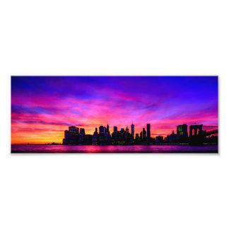 Impression Photo Le coucher du soleil le plus beau