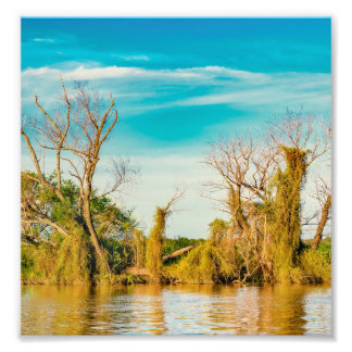 Impression Photo Le fleuve Parana, San Nicolas, Argentine