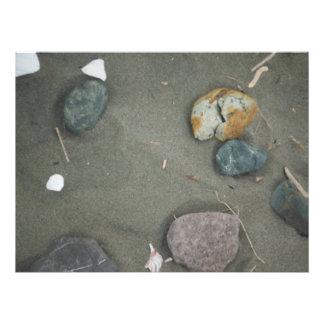 Impression Photo le regard de sable de plage