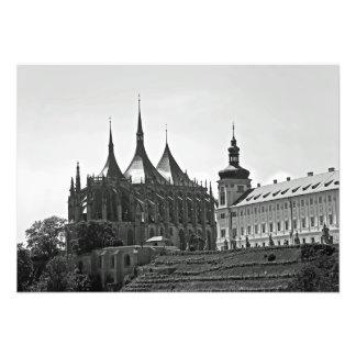 Impression Photo L'église de Barbara de saint dans la ville de