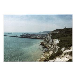 Impression Photo Les falaises blanches de Douvres