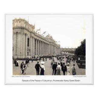 Impression Photo LPE13 - Palais de Façade d'éducation, promenade