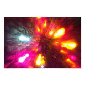 Impression Photo Lumières colorées