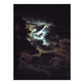 Impression Photo lune superbe du ciel nocturne