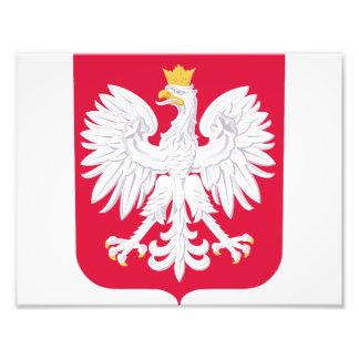 Impression Photo Manteau de la Pologne des bras polonais