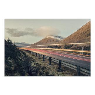 Impression Photo Montagnes écossaises