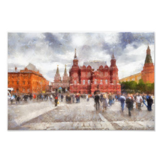 Impression Photo Moscou, Russie, place de Manezhnaya