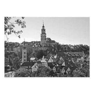Impression Photo Panorama de la ville Cesky Krumlov