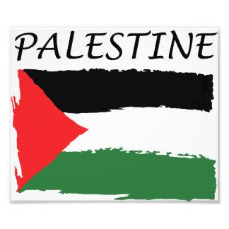 Impression Photo Papier de drapeau de la Palestine