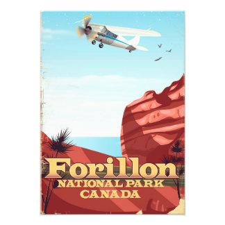 Impression Photo Parc national de Forillon, affiche de voyage du