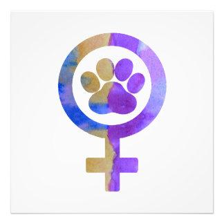 Impression Photo Patte de chien de Vénus