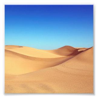 Impression Photo Paysage pittoresque de nature de désert de sable