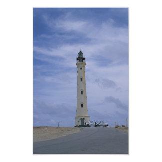 Impression Photo Phare dans Aruba