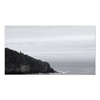 Impression Photo Phare sur une colline