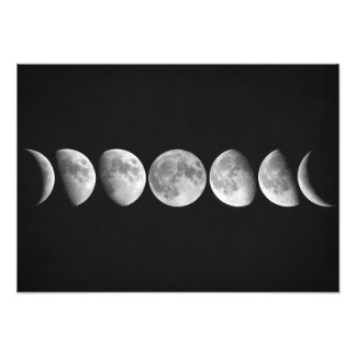 Impression Photo Phases de lune