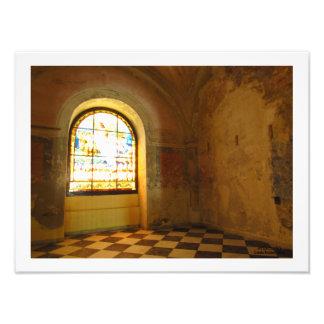 Impression Photo Pièce dans la cathédrale de San Juan Bautista