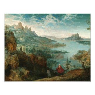 Impression Photo Pieter Bruegel - aménagez en parc avec le vol en