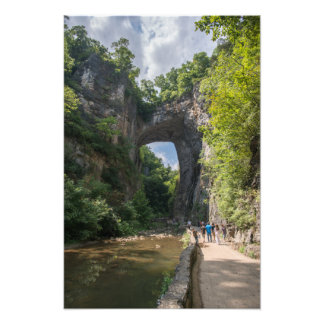 Impression Photo Pont naturel