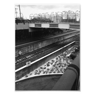 Impression Photo Ponts et rails à Pittsburgh