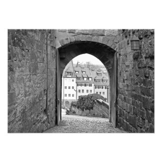Impression Photo Porte de la forteresse de Nuremberg