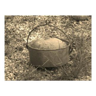 Impression Photo pot de ferme de fer de fonte