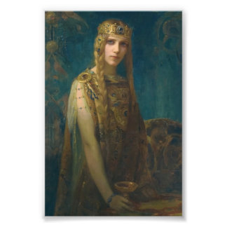 Impression Photo Princesse Hélène Wearing une couronne