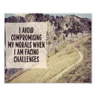 Impression Photo Relever des défis par des téléchargements inspirés