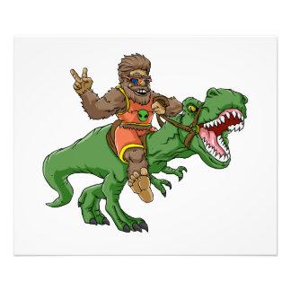 Impression Photo rex Bigfoot de rex-T de la Bigfoot-bande dessinée