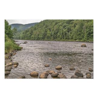 Impression Photo Roches le fleuve Hudson- à New York