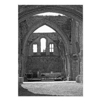 Impression Photo Ruines de la vieille forteresse