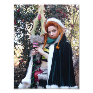 Impression Photo Rustique ravissez l'enchanteresse Cosplay