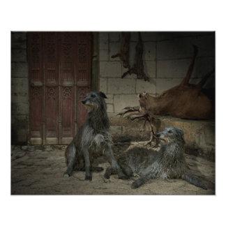 Impression Photo Scène de chasse : le butin (part. 3)