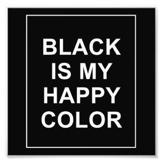 IMPRESSION PHOTO SKAM - BLACK IS MY HAPPY COLOR