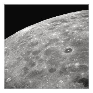 Impression Photo surface lunaire