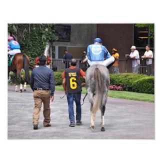 Impression Photo Tapceptional - course de chevaux de fer