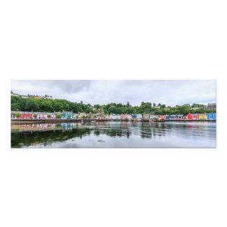 Impression Photo Tobermory, capital d'île chauffent