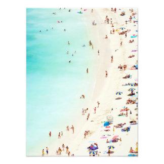 Impression Photo Un jour à la plage